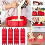 Bake Snake, Kuchenformen, Tortenring Verstellbar, Silikon Form, Backform, Fondant Zubehör, Cake...