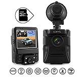 Dashcam Autokamera Dual Lens 1080P FHD Dashcamera DVR WDR GPS G-Sensor Bewegungserkennung...
