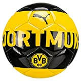 PUMA Bvb Fan Ball Fußball, Cyber Yellow-Puma Black, Mini