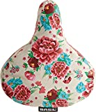 Basil Damen Sattelbezug Bloom, Gardenia White, One Size, 50326