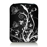 Luxburg® Design Tasche Hülle Sleeve Etui für eBook Reader und Tablet PC bis 7 Zoll, Motiv:...