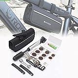 EMOTREE Fahrrad Reparatur Fahrradwerkzeug Flickzeug Imbus Reifen Flickset mit Tasche