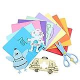 Kind Lernspielzeug, Chickwin Papier Toys Papierschnitt diy Spielzeug Painting toys Entwicklung...