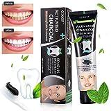 Aktivkohle zahnpasta, teeth whitening, Natürliches Aktivkohle Zähne Schwarze Zahnpasta, charcoal...