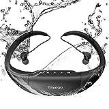 Tayogo Wasserdicht Schwimmen Sport Kopfhörer ¨ C Hifi-Stereo-Sound mit Active Noise Cancellation...