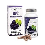OPC Kapseln Hochdosiert - Mit Zertifikat - OHNE Künstliches Vitamin C - 500mg Traubenkernextrakt -...