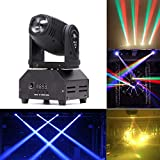 U'King 50W DMX512 Lichteffekt Mini Moving Head LED Pinspot Licht Stadiums Effekt 14CH-Bühnenlicht...