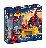 Lego 10607 Duplo Spider-Man- Motorrad-Werkstatt, Spiderman Spielzeug