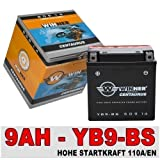 Motorrad Batterie AGM 9AH CB9-B YB9-BS 50914 YB9-B Aprilia Piaggio Vespa Sfera 12V