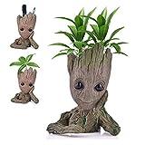 Udream Blumentopf/Stiftehalter mit Zeichentrickfigur, Geschenke für Kinder, Geschenkidee für...
