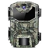 Victure Wildkamera 16MP 1080P Full HD Leichtes Glühen Infrarot Nachtsicht Überwachungskamera mit...