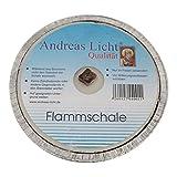 10er Pack Partylichter / Flammschale Assiette Andreas Licht je ca. 160 x 25 mm Partykerze rund...