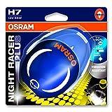 OSRAM NIGHT RACER Plus H7, Scheinwerferlampe, Motorrad, 64210NRP-01B, 1er Blister - vom Hersteller...
