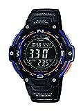Casio Herren Uhr Digital mit Resinarmband SGW-100-2BER