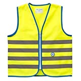 Wowow Sicherheitsweste Warnweste Für Kinder 'Fun Jacket' Gelb S