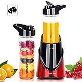 HOMEASY Standmixer Smoothiemaker Mini Blender für Smoothies und Milchshakes Edelstahlgehäuse Mixer...