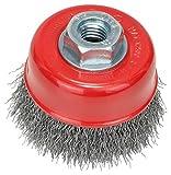 BOSCH Topfbürste, gewellter Draht, 0,3 mm, 70 mm, 12500 U/ min, M 14, 2608622098