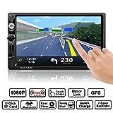 Autoradio, CATUO 7 Zoll GPS Auto-Spieler HD 1080P Touchscreen MP5 Player mit Mirrorlink /GPS...