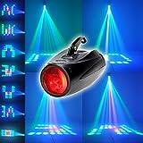 XINBAN 10W RGBW Akustisch Gesteuerte Bühnenbeleuchtung mit 64 LEDs und Halterung.Ultra Hellen...