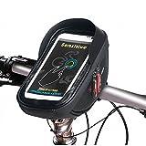 Fahrrad Lenkertasche Fahrradtasche Rahmentasche Handyhalterung Navigationshalterung Wasserdicht...