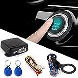 TOOGOO Smart RFID Auto Alarmanlage Push-Motor Start Stop-Taste Sperre Zuendung Wegfahrsperre mit...