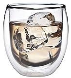 AKTION: 320ml doppelwandiges Thermoglas mit Schwebe-Effekt, Teeglas / Kaffeeglas für Cappuchino,...