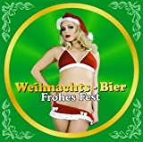 Flaschenetikett Weihnachts-Bier - Frohes Fest