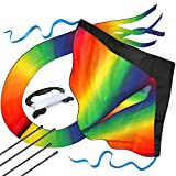 aGreatLife Regenbogen Drachen für Kinder, 107 cm