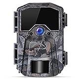 APEMAN Wildkamera 16MP 1080P Infrarot-Nachtsicht Jagdkamera mit 940nm LEDs, Zeitraffer,...