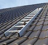Kaminkehrerleiter Dachleiter Aluminium 22 Sprossen 6,16m