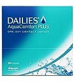 Dailies AquaComfort Plus Tageslinsen weich, 90 Stück / BC 8.7 mm / DIA 14.0 / -2,00 Dioptrien