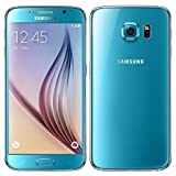 Samsung Galaxy S6 Smartphone (5.1 Zoll Touch-Display, 32 GB Speicher, Android 5.0) blau...