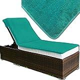 JEMIDI Frottee Schonbezug für Gartenliege oder Massage / Relaxing Liege Bezug Strandliege...