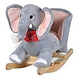vidaXL Schaukeltier Schaukelpferd Schaukel Tier Elefant Schaukelelefant Spielzeug 80072