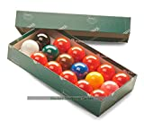 Aramith Snooker Balls (1 and 1/2 inch, 37.5mm, with 10 reds)