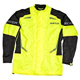 Racer FLEX Regenjacke Motorrad - fluo gelb schwarz (6XL)