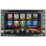 GPS Auto-Spieler, CATUO 6.2 Zoll Navigationssystem DVD Player mit GPS Navigation Unterstützung...