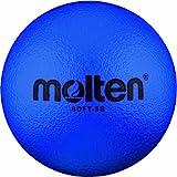 Molten Ball Softball Fußball Soft-SB, Blau, Ø 180 mm, Blau, 130g, Durchmesser 180mm, Soft-SB