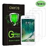 [3 Stück] Panzerglas Schutzfolie für iPhone 8/iphone 7, CNXUS iPhone 8/7 Panzerglasfolie 9H Härte...