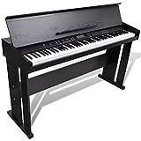 vidaXL Klassische Elektro 88-Tasten Digital Piano E-Piano Keyboard Klavier Notenablage