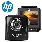 HP 1296P DashCam Autokamera Full HD DVR Rekorder und G-Sensor Nachtsicht, Automatische Loop-Zyklus...