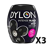 Dylon Maschine Dye Pod Intense Black X3