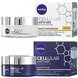 Nivea Cellular Anti-Age Tagespflege LF30 50 ml, 1er Pack (1 x 0.05 l) + Nachtpflege 50ml, 1er Pack...