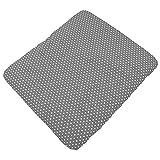 Sugarapple Wickelauflagenbezug Grau Punkte weiß aus 100% Baumwolle für Wickelauflagen 85 x 75 cm,...