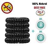 Mückenschutz, Binwo 20+2 Stück bestes Anti Mücken Armband - Indoor Outdoor Insektenschutz...