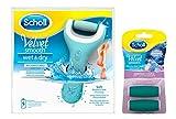 Scholl Velvet Smooth Pedi Wet & Dry elektrischer Hornhautentferner + Refill