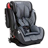 LCP Kids Auto Kindersitz 9-36 kg Isofix GT Comfort - Liegefunktion - verstellbare Kopfstütze Gr. 1...