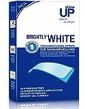 shineUP Bright White-Strips, 28 Bleaching-Stripes zur Zahnaufhellung in 14 Tagen, Zahnaufheller,...