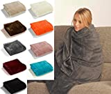 Fashion&Joy - Super Soft Flanell Wohndecke in XL oder XXL - PREMIUM Microfaser Decke in Top...