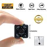 1080P Mini Cam Surveillance Kamera LXMIMI Portable HD Nanny Web Cam mit Nachtsicht und...